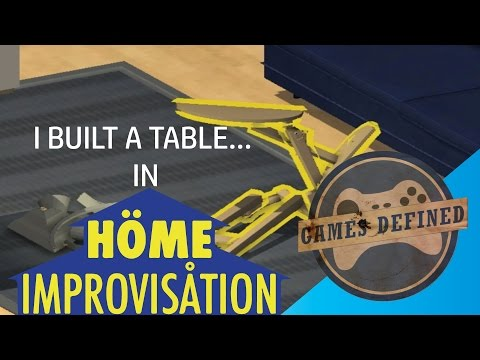 Home Improvisation Flat Pack Furniture Simulator