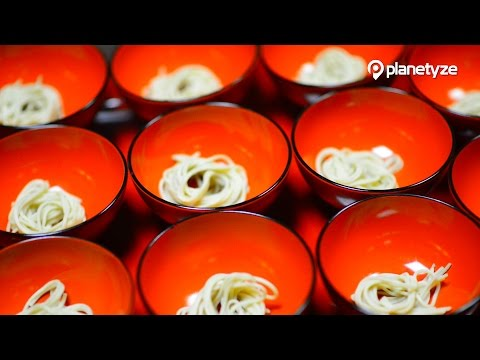 Wanko Soba, Iwate | One Minute Japan Travel Guide