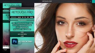Retouch Pro First Look   Photoshop Skin Retouching Panel screenshot 4