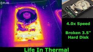 3.5 Inch Hard Disk Drive In Thermal