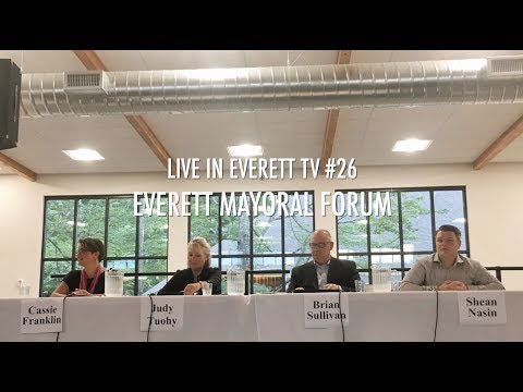 Live In Everett TV #26: Everett Mayoral Forum (Hosted by Everett Faith in Action)