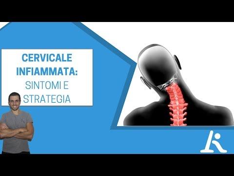Cervicale infiammata: sintomi ed esercizi