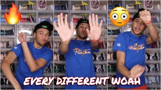 HOW TO HIT ËVERY DIFFERENT WOAH DANCE🔥 (TUTORIAL)