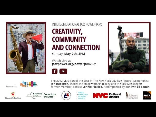 Intergenerational Jazz Power Jam: Creativity, Community and Connection