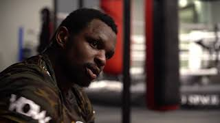 Dillian Whyte's last training session before fighting Oscar Rivas.