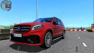 City Car Driving 1.5.2 Mercedes-Benz GLS63 AMG V8 BITURBO TrackIR 4 Pro [1080P]