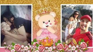Retro Chá de Bebê Ursinha Princesa