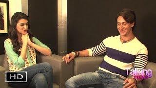 Download lagu Tiger Shroff-Kriti Sanon Exclusive On Heropanti Part 3