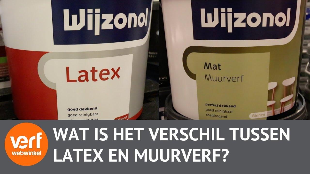 Meubels Verven Met Latex Muurverf.Wat Is Het Verschil Tussen Muurverf En Latex Verfwebwinkel Nl