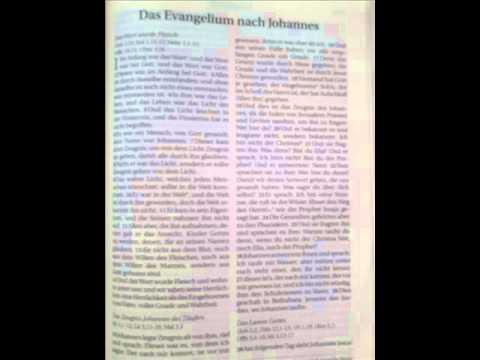 Das Johannesevangelium, behandelt von Roger Liebi Teil 20