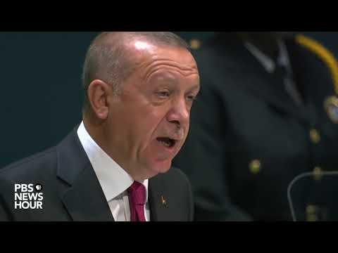 WATCH: Turkey President Recep Tayyip Erdoğan's full speech to the UN General Assembly