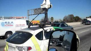 Ever wonder how they do google maps street views? ....I found the little guy. Free HD Video