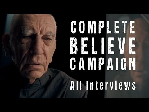 Halo 3 Believe Campaign (FULL - All Interviews)