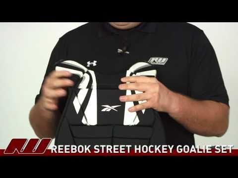 Reebok Hockey Street Goalie 4-Piece Set