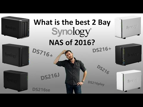 What is the best 2 Bay NAS of 2016?  The DS216PLAY vs DS716+ vs DS216+ vs DS216J vs DS216se vs DS216