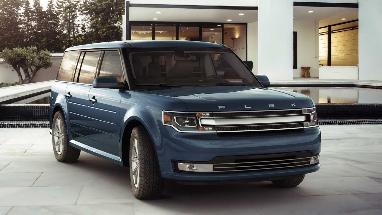 2018 Ford Flex 3 Row 7 Penger Suv Review On Everyman Driver Exterior Interior