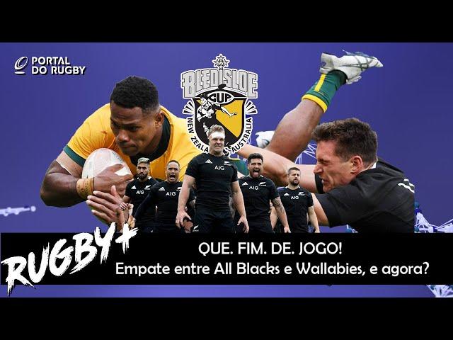 All Blacks e Wallabies empataram em fim de jogo incrível. Mas, foi bom mesmo o jogo?