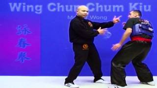 Wing Chun kung fu - wing chun chum kiu training Lesson 15