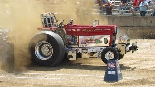 2018 Super Stock Tractor Pull NYTPA Greenwich New York Washington County Fair
