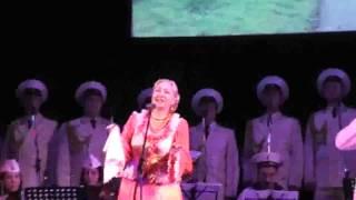 �������� ���� Елена Елисеева концерт ансамбля ДКБФ Какая песня без баяна. Трав моя трава ������