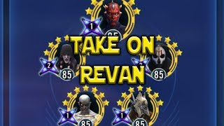 Darth Maul lead with the Sith Trio and Nest takes on Revan. Interes...