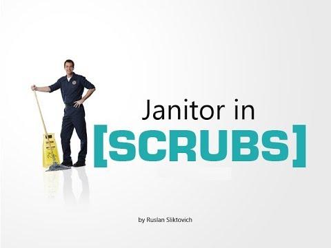 Уборщик. Клиника. 8 сезон (Janitor. Scrubs. 8 season. RUS ...