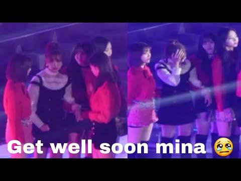 Get well soon mina 미나♥😢