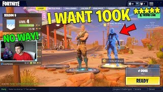 So I undercover DEFAULT trolled the wrong fan.. (Fortnite Battle Royale) thumbnail