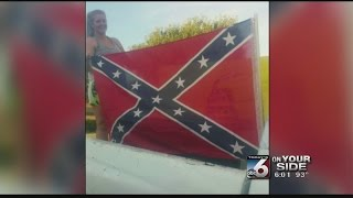 Wilder school forces student to remove Confederate flag from truck