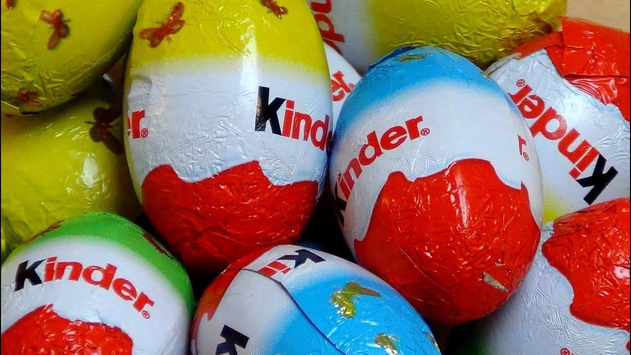 Kinderschokolade Eier
