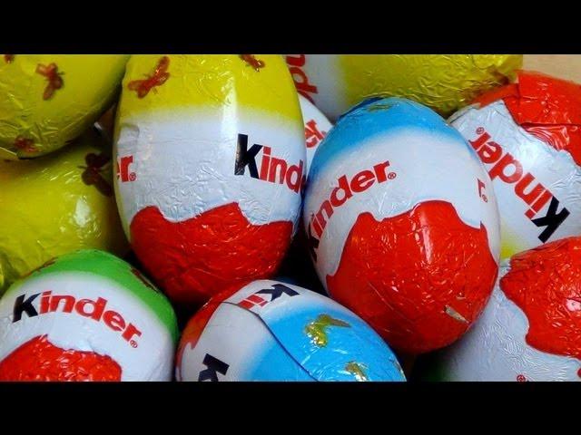 Kinder Schoko-Eier [Chocolate Eggs]