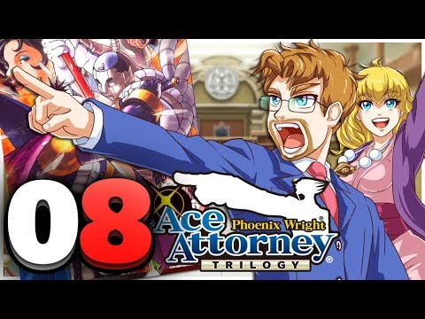 Phoenix Wright: Ace Attorney Trilogy HD Part 8 Trial Day 1 Turnabout Samurai