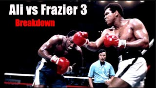 Download The Thrilla in Manila Explained - Ali vs Frazier 3 Breakdown Mp3 and Videos