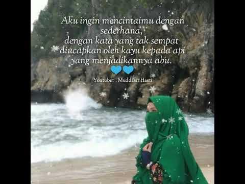 Kata kata mutiara Cinta cover wanita muslimah (Snap Wa ...