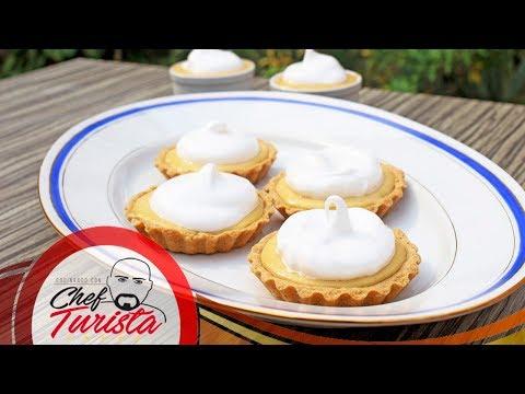 Mini pie de parchita - facil y delicioso