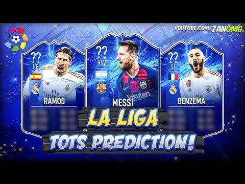 FIFA 20 | LA LIGA TOTS PREDICTION!! 😱🔥 | FT. BENZEMA, MESSI, RAMOS...etc