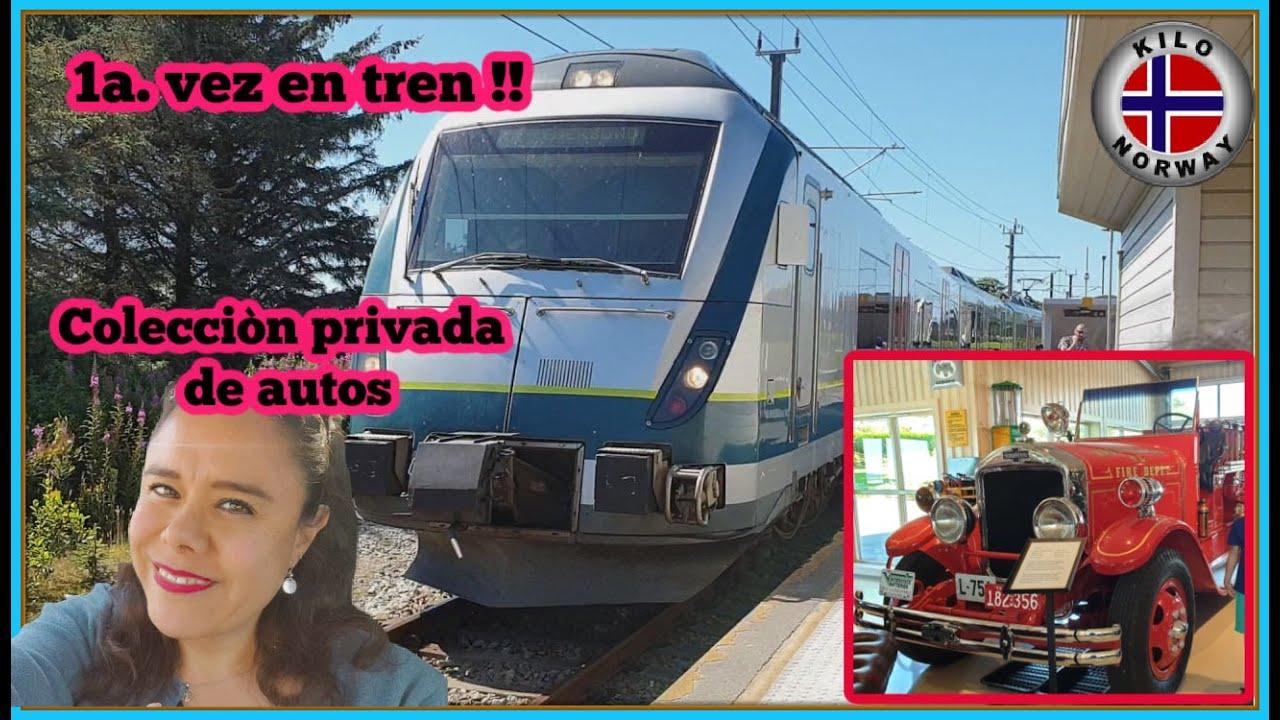 1a. vez en tren/ coleccion privada de autos 😊 Kilo Norway | Vlog 206