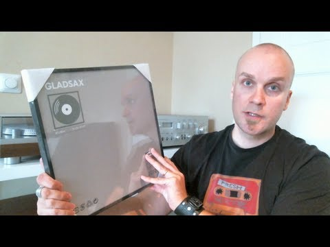 IKEA GLADSAX vinyl record frames