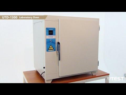 UTD 1300, Laboratory Oven, EN