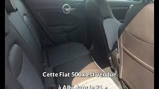 Fiat 500x occasion visible à Albi présentée par M auto albi