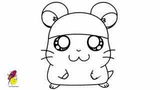 Cappy - Hamtaro - How to Draw Hamtaro