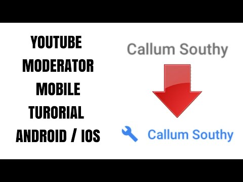 HOW TO MAKE YOUTUBE MODERATORS ON MOBILE TUTORIAL!