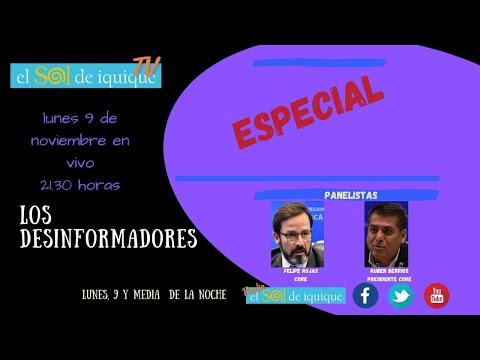 Los Desinformadores edicion especial lunes 9 noviembre