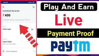 play games and earn paytm cash in tamil | live payment proof | new paytm earning app 2020 tamil