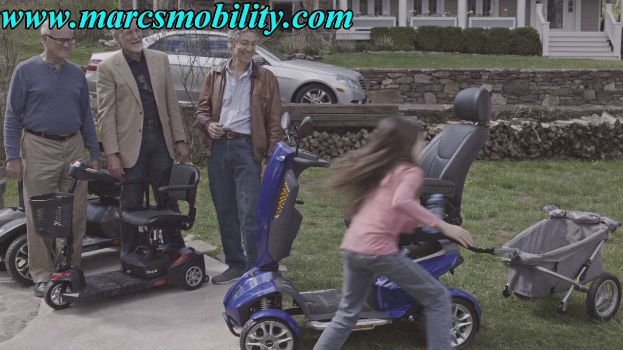 Drive Medical Odyssey Scooter Fast Mobility Scooter