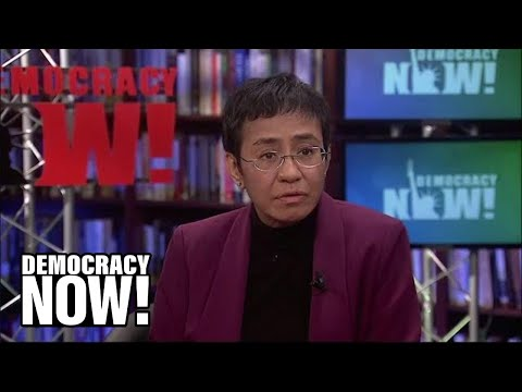 Despite Two Recent Arrests, Filipina Journalist Maria Ressa Continues to Speak Out for Press Freedom