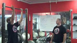Underground Strength Gym Pull Up Contest