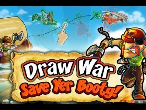 CGRundertow DRAW WAR: SAVE YER BOOTY for iPhone Video Game Review