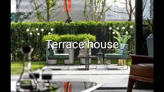 Terrace house 테라스 하우스
