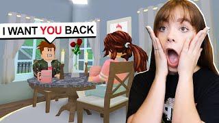 My Ex Boyfriend Wants Me Back.. (Roblox Bloxburg Roleplay)